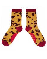 "Ankle Socks Leopard Print"""""