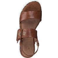 Sandale by GMK cognac antic