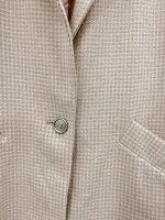 Dünner Mantel mit Glitzer