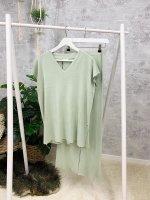 Homewear Anzug Kurzarm