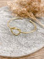Armspange gold Knoten