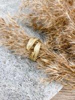 Ring gold Feder