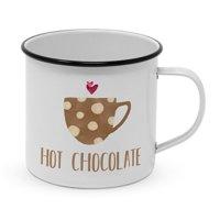Metalltasse Hot Chocolate